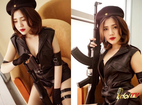 """Đột Kích - Full clip """"nẩy tung"""" sân khấu của các hotgirl Idol TV 1"""