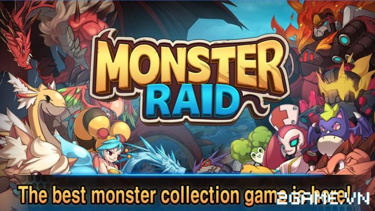 Monster Raid - Game mobile săn Pokemon cực ngầu chính thức ra mắt 0