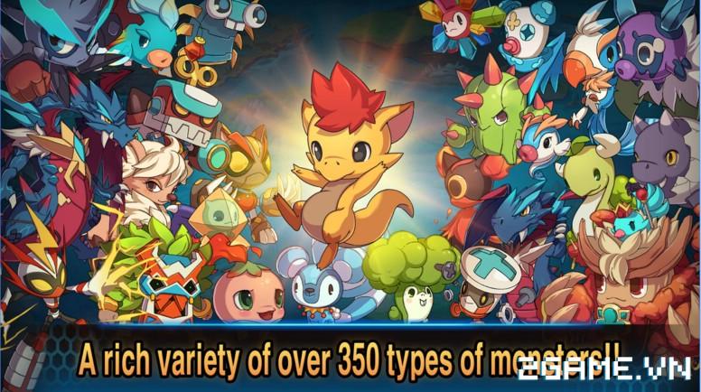 Monster Raid - Game mobile săn Pokemon cực ngầu chính thức ra mắt 3