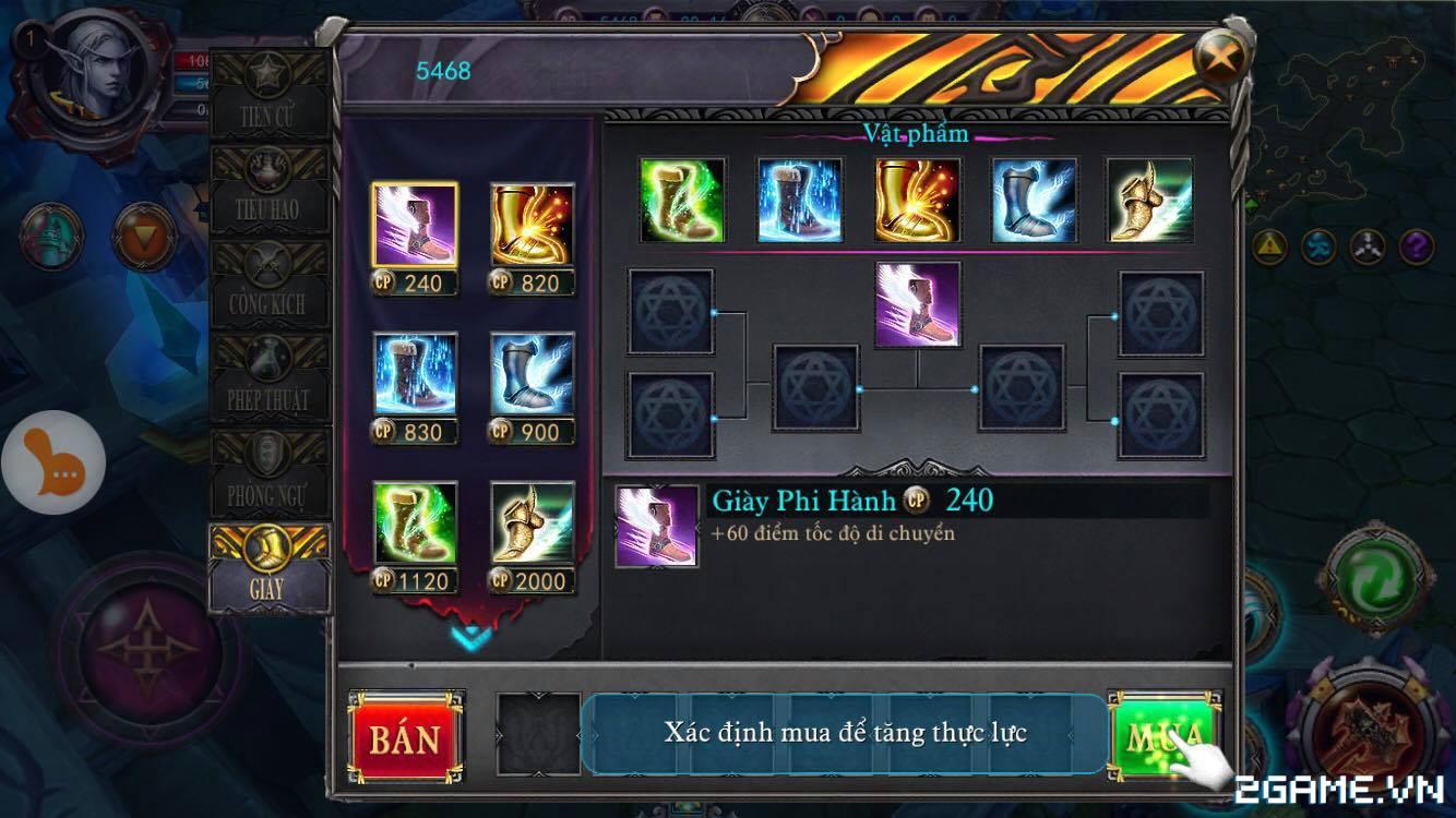 Spirit Of Glory tái hiện chất MOBA trên mobile khá ổn, hệ thống tướng thân thiện với fan DotA 4
