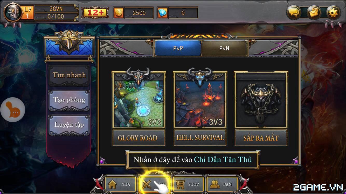 Spirit Of Glory tái hiện chất MOBA trên mobile khá ổn, hệ thống tướng thân thiện với fan DotA 3