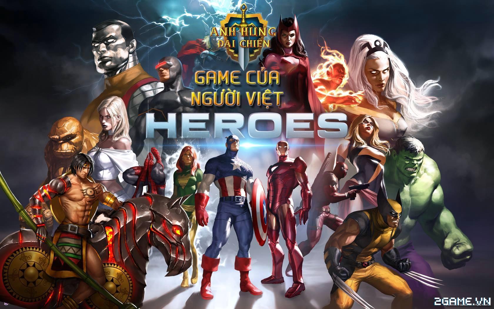 SohaGame sẽ phát hành game Việt Anh Hùng Đại Chiến Mobile 0