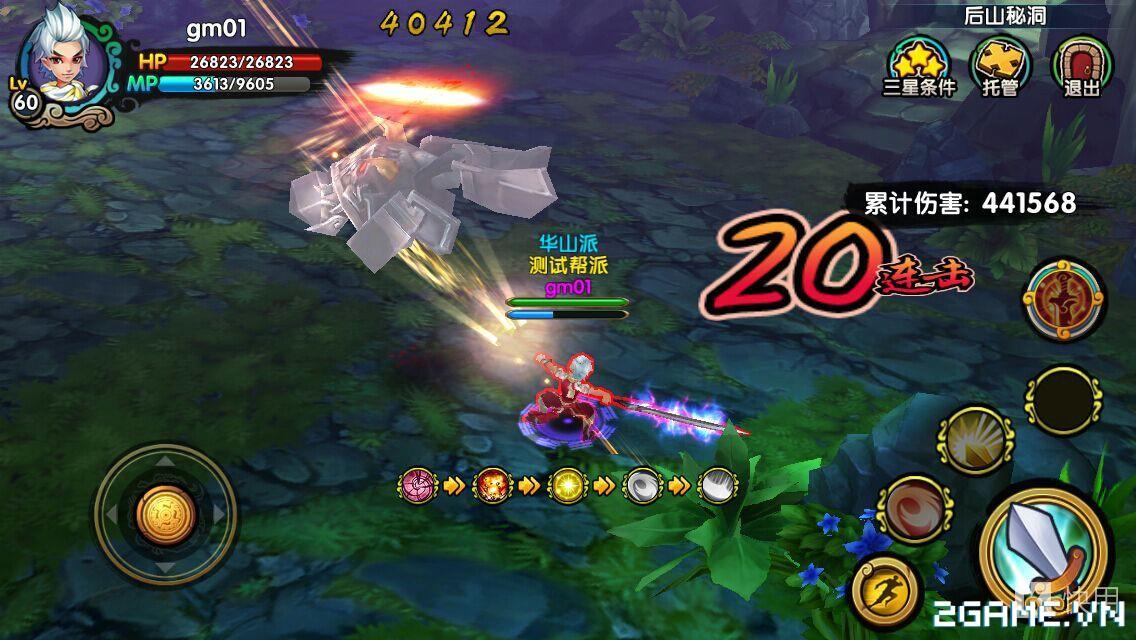 Game mobile Kiếm Khách Truyện cập bến Việt Nam 1