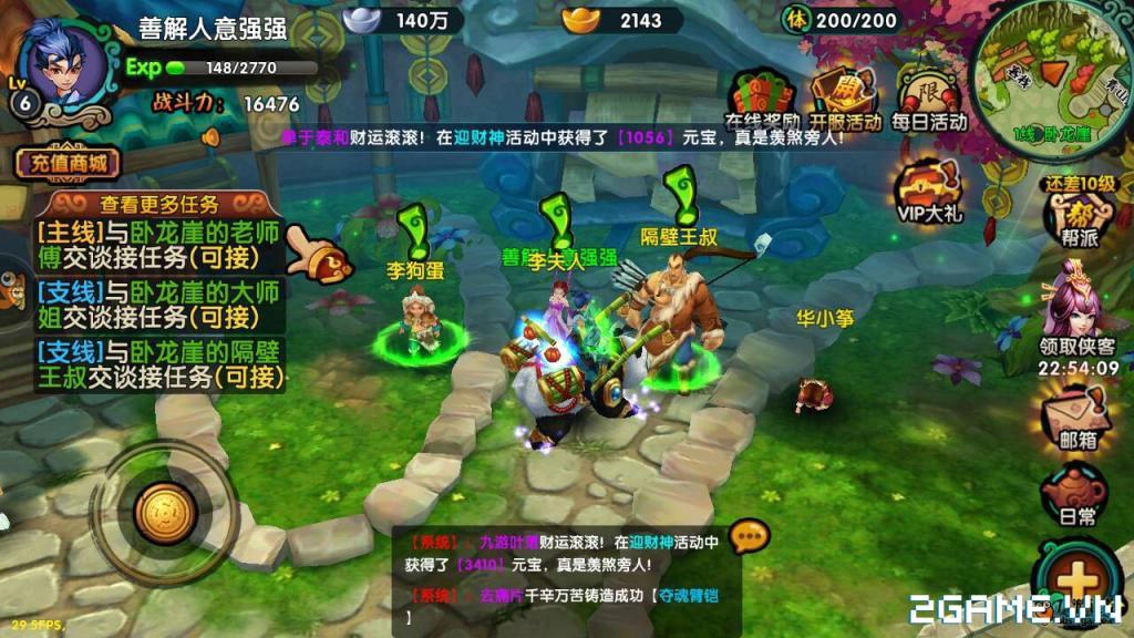 Game mobile Kiếm Khách Truyện cập bến Việt Nam 4