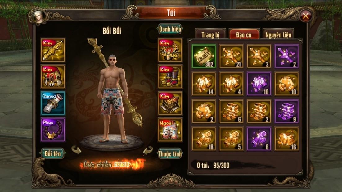 Kungfu Chi Vương - Đi tìm những đội hình hoàn hảo nhất trong game 2
