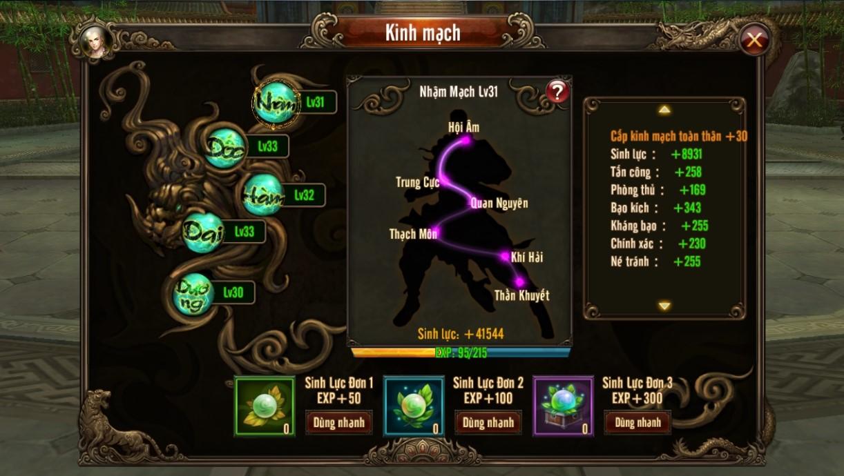 Kungfu Chi Vương - Đi tìm những đội hình hoàn hảo nhất trong game 4