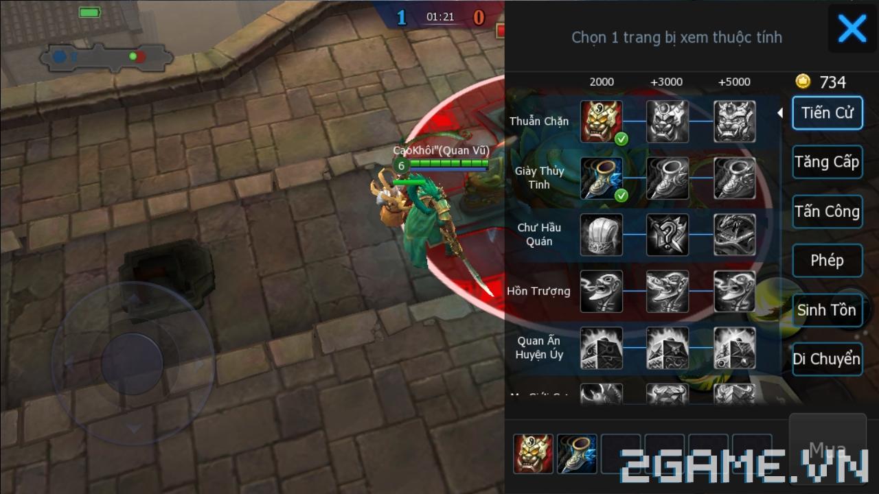 3Q 360Mobi dung hòa một cách khéo léo giữa lối chơi nhập vai và MOBA 4