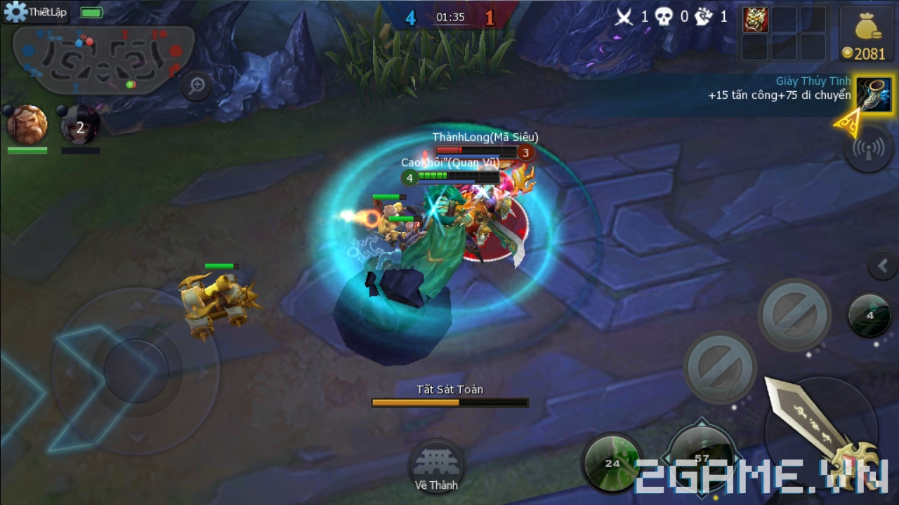 4 game MOBA mới vừa ra mắt tại Việt Nam 3