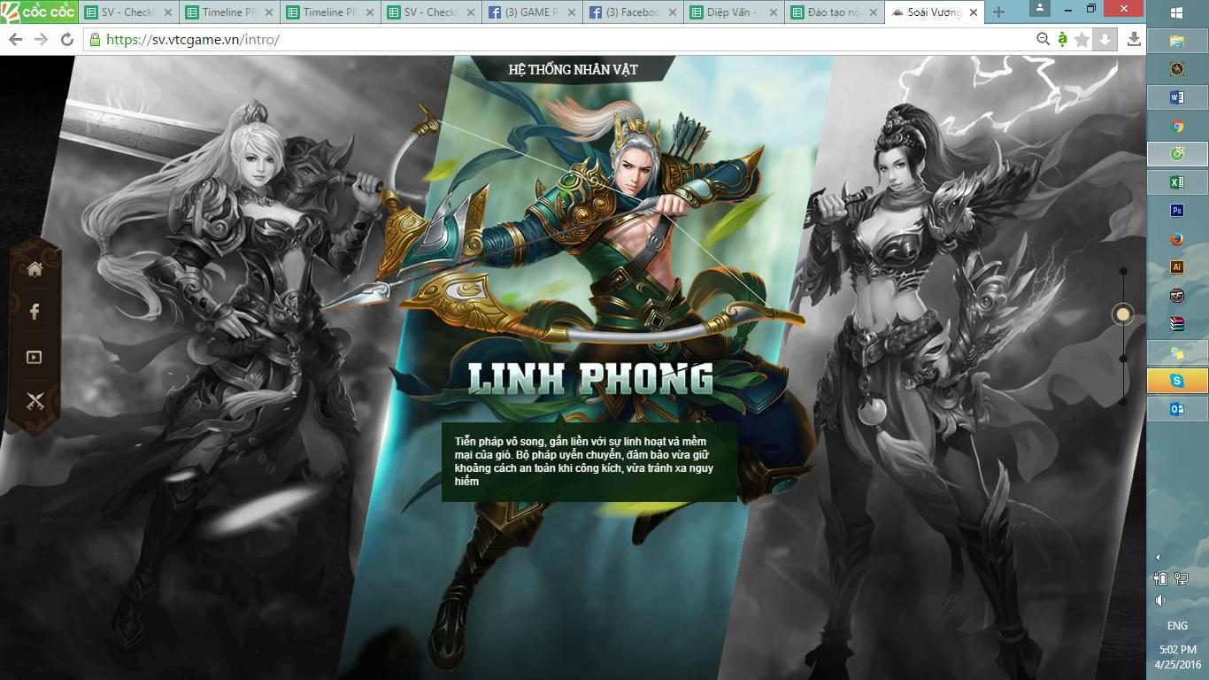 Webgame Soái Vương tung intro ấn định ngày ra mắt vào đầu tháng 5 tới 1
