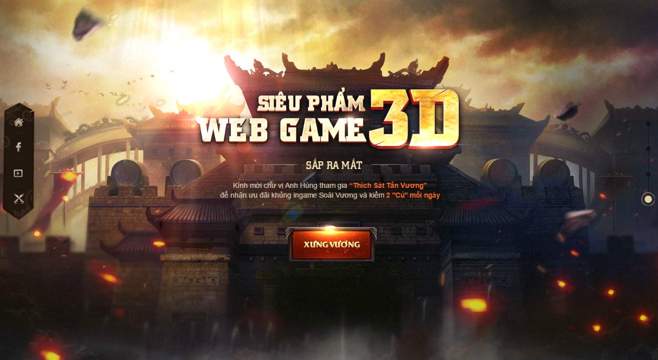 Webgame Soái Vương tung intro ấn định ngày ra mắt vào đầu tháng 5 tới 3