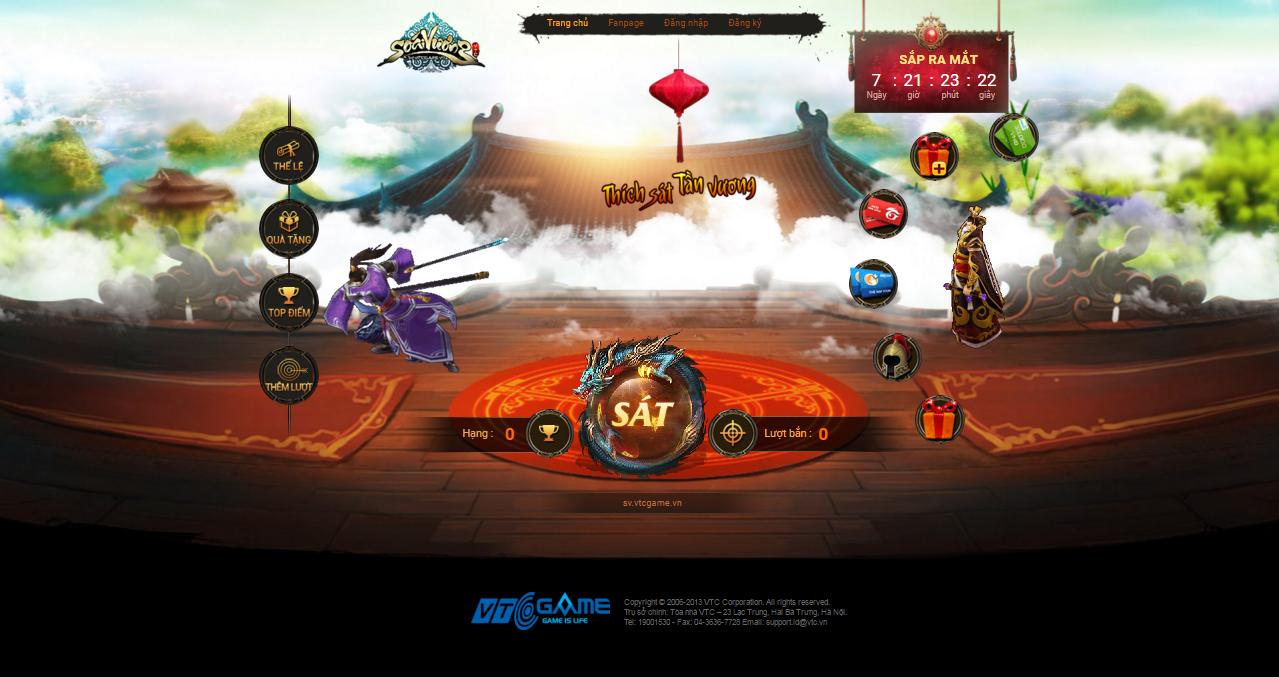 Webgame Soái Vương tung intro ấn định ngày ra mắt vào đầu tháng 5 tới 4