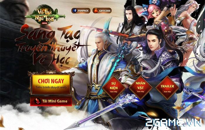 Võ Lâm Ngũ Tuyệt - Khai mở Intro, ấn định ngày ra mắt 05/04 0