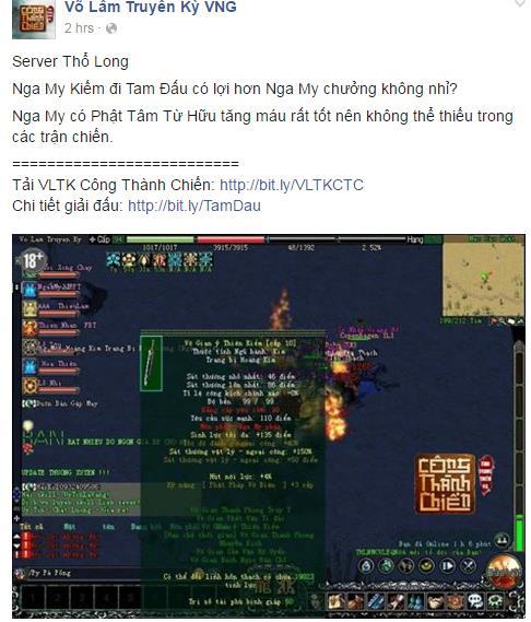 Khởi động giải đấu Xuyên Việt đầu tiên cho game thủ VLTK Công Thành Chiến 1