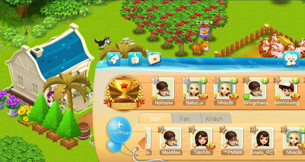 Vườn Vui Vẻ 3V - Tổng hợp các mẹo hữu ích cho game thủ 2