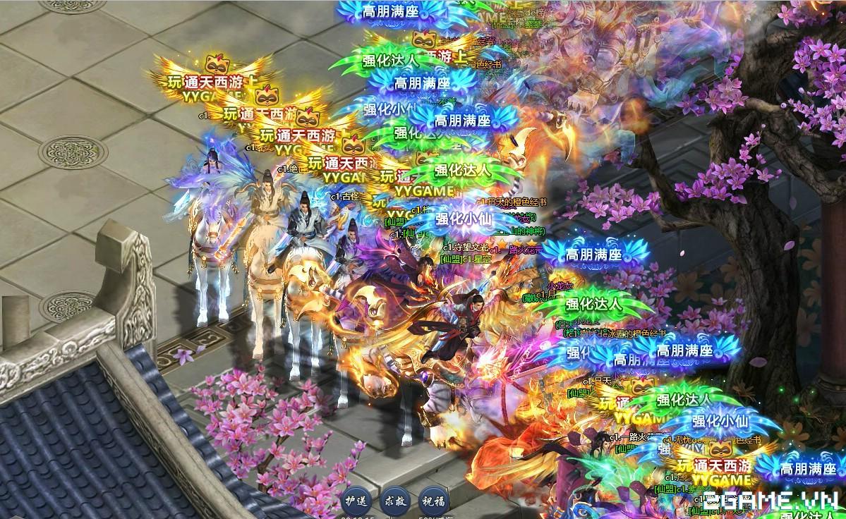 Thông Thiên Tây Du - Webgame đồ hoạ hiện đại chẳng kém game client đã ra mắt tại Trung Quốc 6