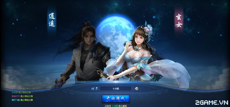 Thông Thiên Tây Du - Webgame đồ hoạ hiện đại chẳng kém game client đã ra mắt tại Trung Quốc 1