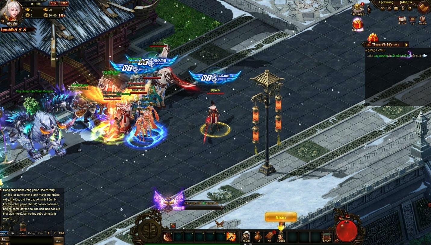 Game Soái Vương siêu mượt - tạo trend ngay ngày đầu ra mắt 2
