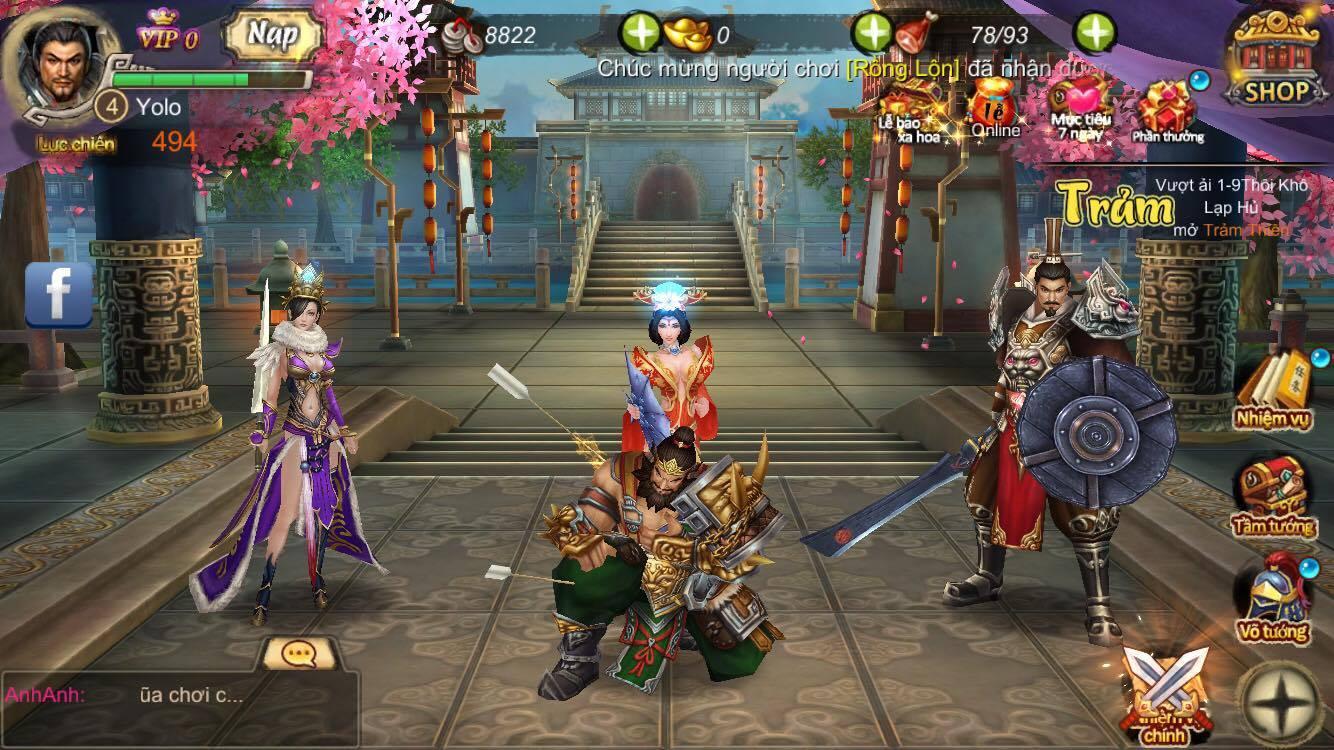Trải nghiệm Long Tướng 3D – Đồ họa đỉnh, gameplay có sự sáng tạo đấy! 2