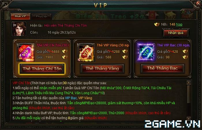 Đấu Phá Web - Tìm hiểu Hệ thống VIP 1
