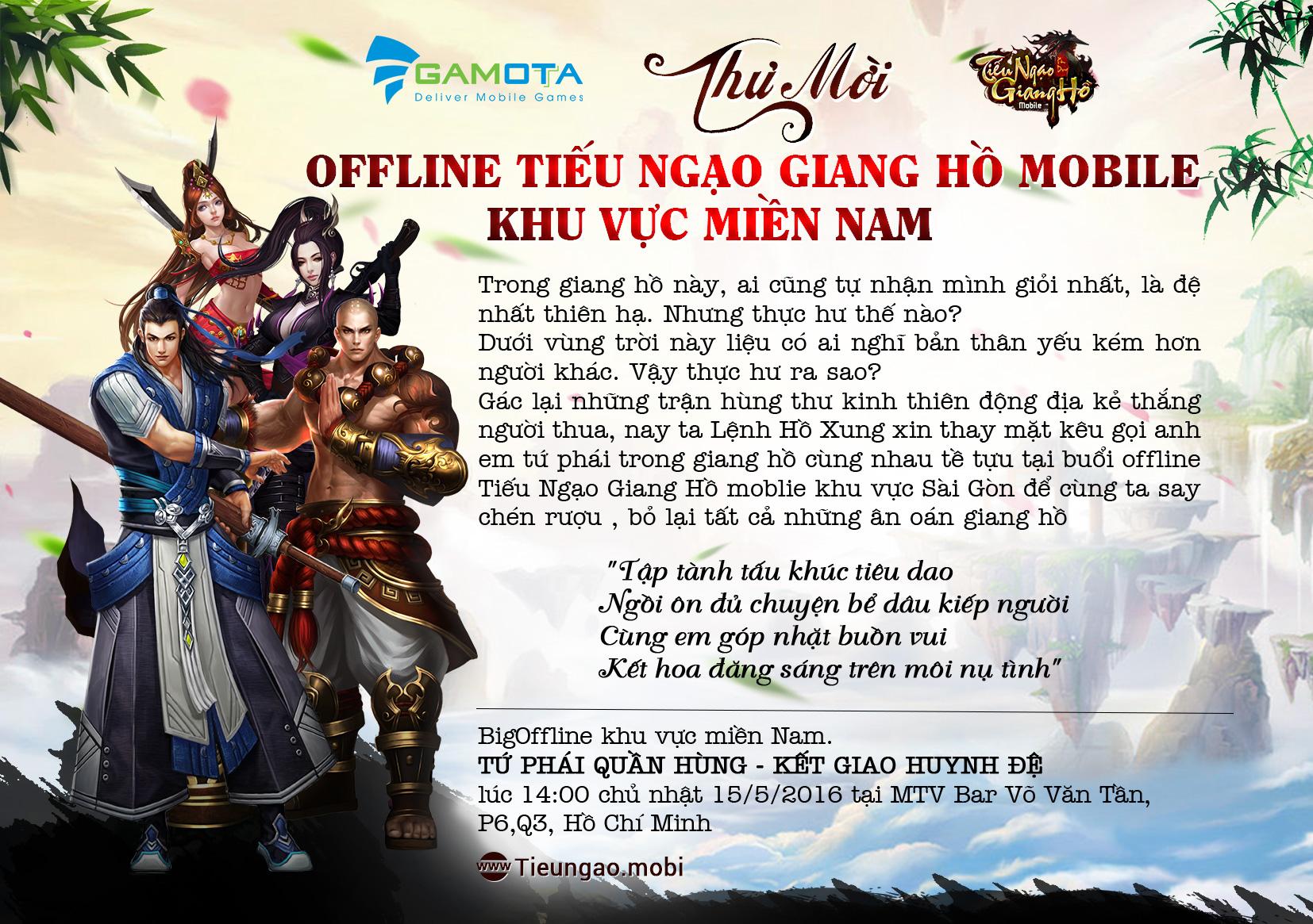 TNGH Mobile – Quậy hết mình tại buổi offline Sài Gòn cùng người nổi tiếng 0