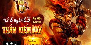 Tặng 210 giftcode game Thần Kiếm 3D