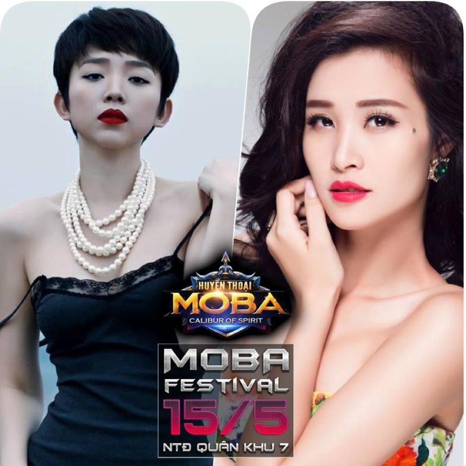 Huyền Thoại MOBA - Đi xem Đông Nhi hát, bạn gái QTV rap, Misthy thi đấu và Viruss làm caster tại MOBA FESTIVAL 4