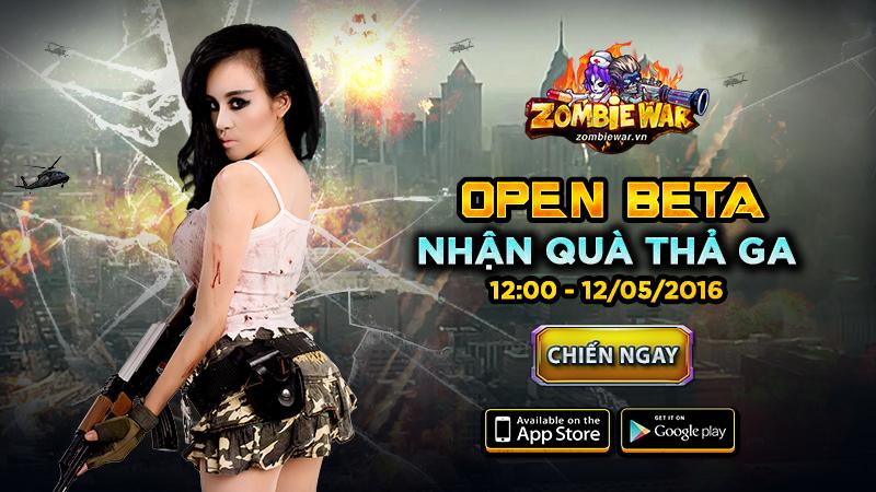 Game thủ đếm ngược chờ ngày gMO Zombie War chính thức Open Beta 1