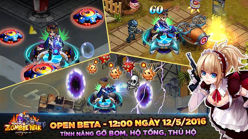 Game thủ đếm ngược chờ ngày gMO Zombie War chính thức Open Beta 2
