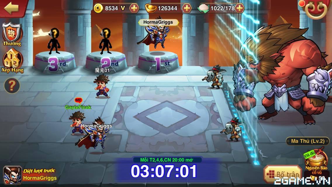 Túy Anh Hùng – Giới thiệu các chức năng chính trong game – P2