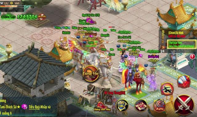 Chinh Đồ Mobile - Game thủ ức chế tột cùng khi thức trắng đêm Vận tiêu mà vẫn bị PK, cướp 4