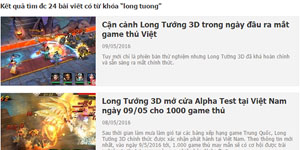 Long Tướng 3D được đánh giá cao vì đồ họa mãn nhãn