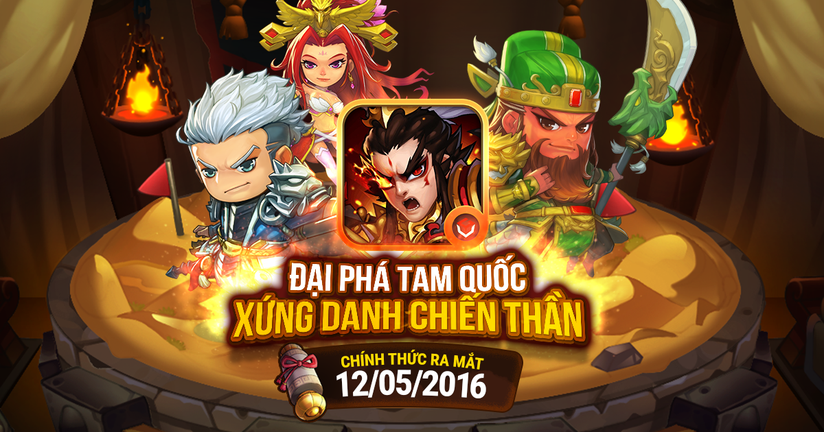 Tặng 510 giftcode game Lữ Bố Truyện 0