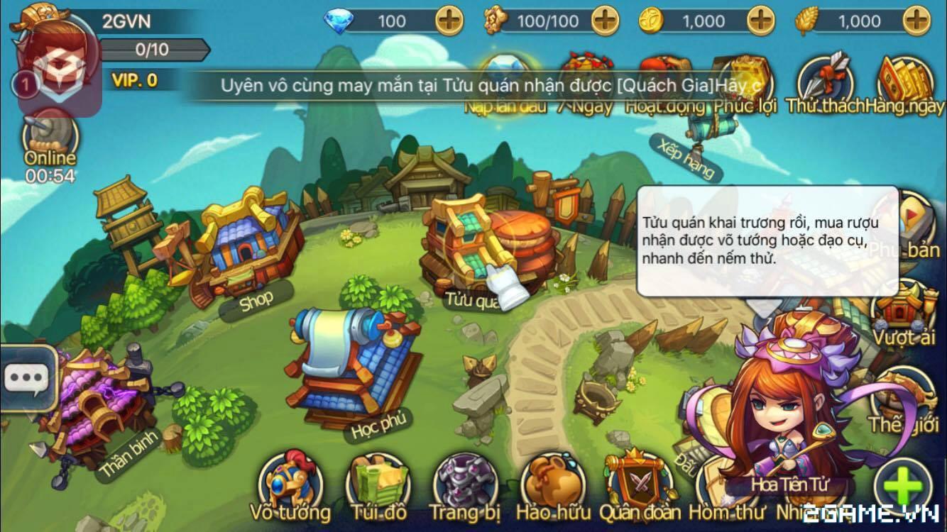 Trải nghiệm Lữ Bố Truyện – Game chiến thuật hấp dẫn cho game thủ yêu thích Tam Quốc 6