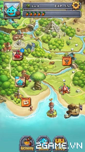 Slime Dungeon - game mobile nhập vai thú vị có lối chơi tương tự Minesweeper 3