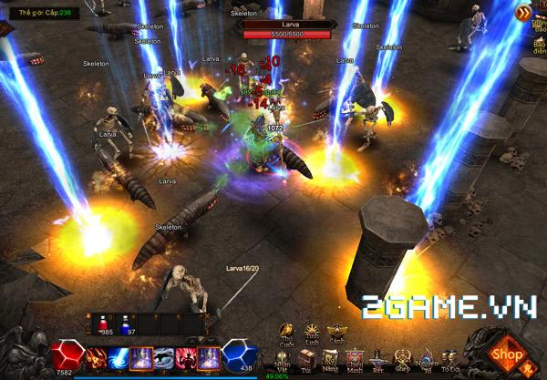 Anh Hùng MU: Fan MU Online hết hồn trước sự xuất hiện của phiên bản webgame 3D 3