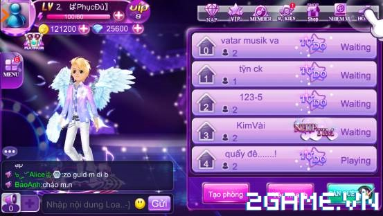 Super Dancer VN - Hướng dẫn Nâng Cấp Cánh Nạp Đầu 1