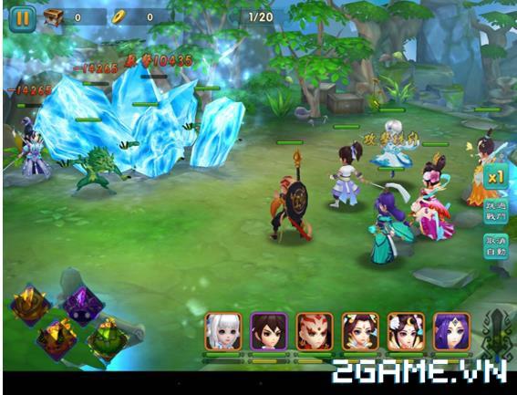 Thục Sơn Cứu Thế Kiếm - Game thẻ bài RPG thế hệ mới 2