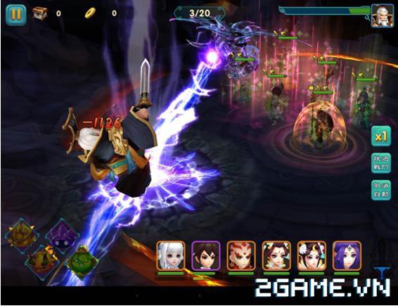 Thục Sơn Cứu Thế Kiếm - Game thẻ bài RPG thế hệ mới 3