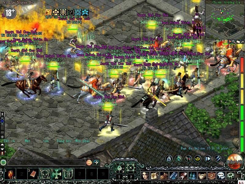 Võ Lâm Truyền Kỳ Công Thành Chiến tung thêm bản cập nhật thêm tính năng mới 3