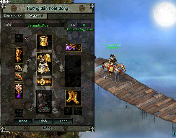 Võ Lâm Truyền Kỳ Công Thành Chiến tung thêm bản cập nhật thêm tính năng mới 4