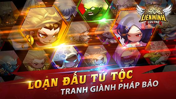 Tổng quan về game mobile Liên Minh Cứu Thế 3