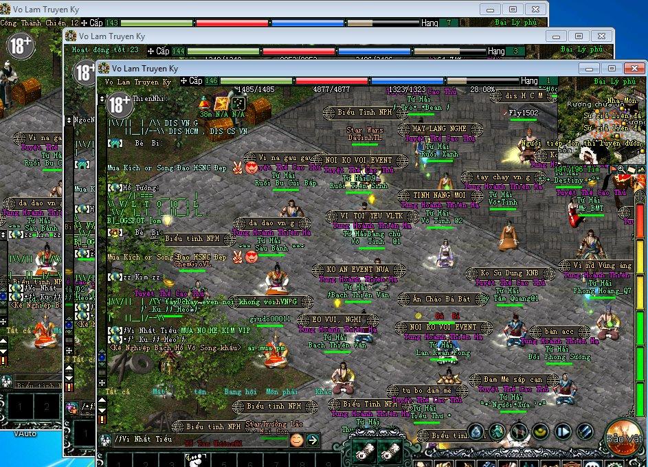 Game thủ Võ Lâm Truyền Kỳ live stream quá trình xóa tài khoản để phản đối VNG 2