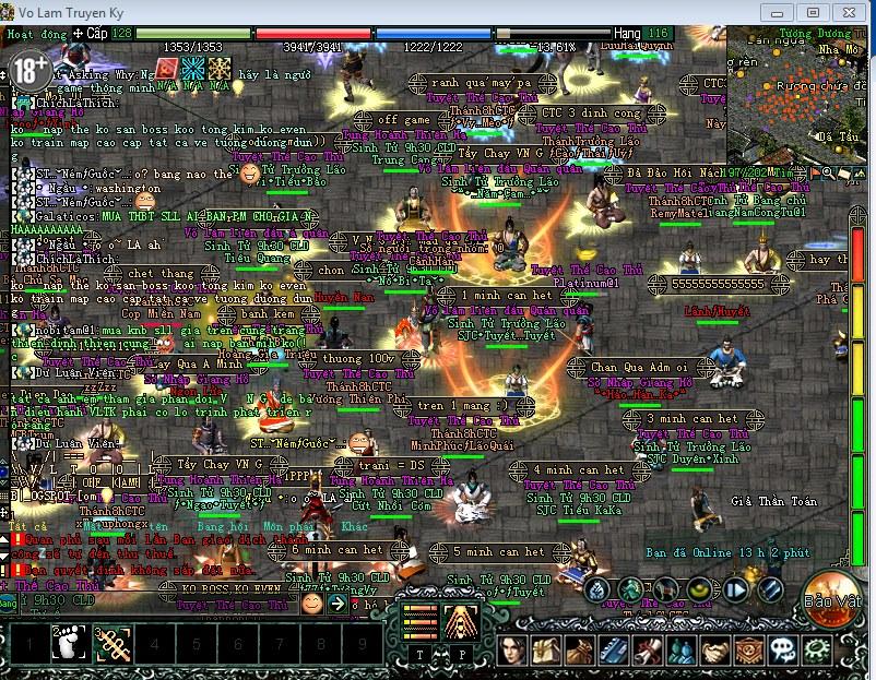 Cả nghìn game thủ Võ Lâm Truyền Kỳ đang ngồi treo máy giữa thành vì bức xúc 6