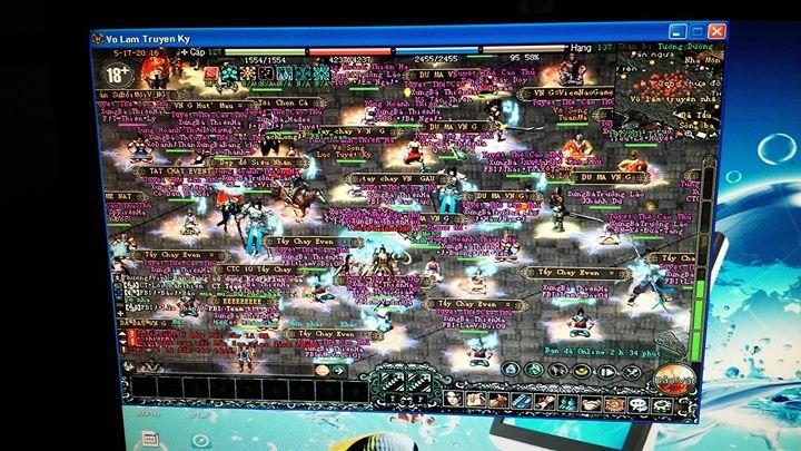 Cả nghìn game thủ Võ Lâm Truyền Kỳ đang ngồi treo máy giữa thành vì bức xúc 3