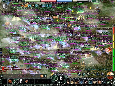 Cả nghìn game thủ Võ Lâm Truyền Kỳ đang ngồi treo máy giữa thành vì bức xúc 1
