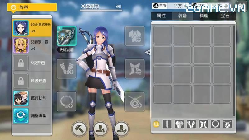 Sword Art Online – Black Swordsman: Tuyệt phẩm JPRG sống dậy trên nền tảng Mobile 17
