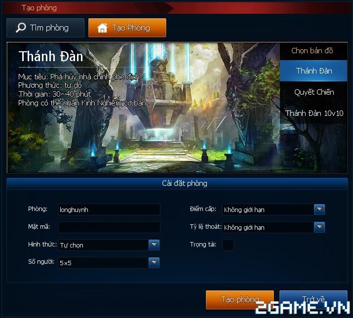Huyền Thoại MOBA - Giới thiệu các thể loại thi đấu 3