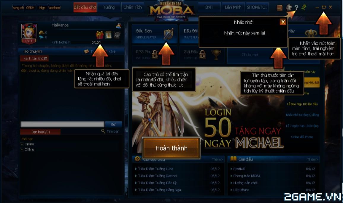 Huyền Thoại MOBA - Hướng dẫn tân thủ 3