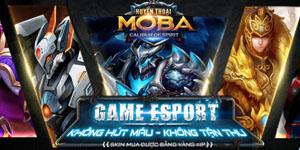 Huyền Thoại MOBA – Tặng tài khoản test cho game thủ báo game