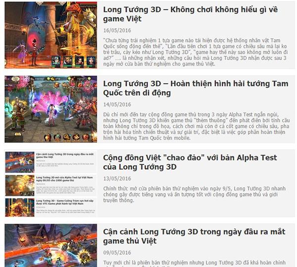 Long Tướng 3D tung intro hoành tráng hé lộ ngày tải game 2